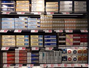 duty free cigarettes